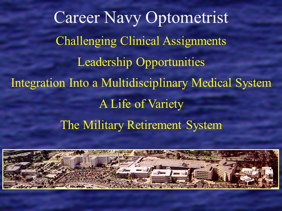 Career Navy Optometrist