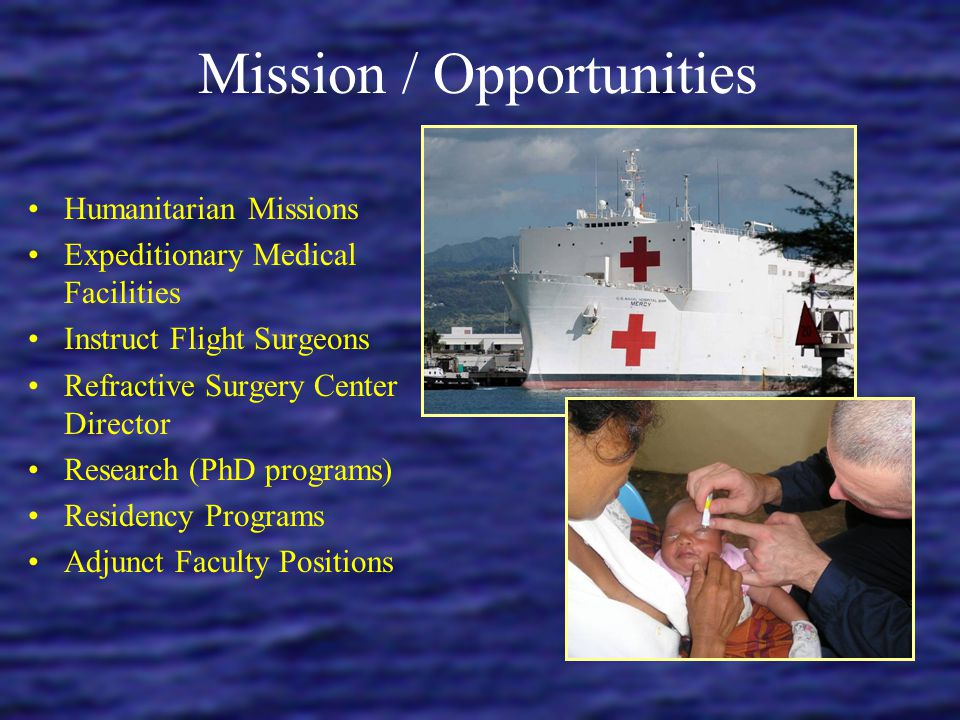 Mission / Opportunities