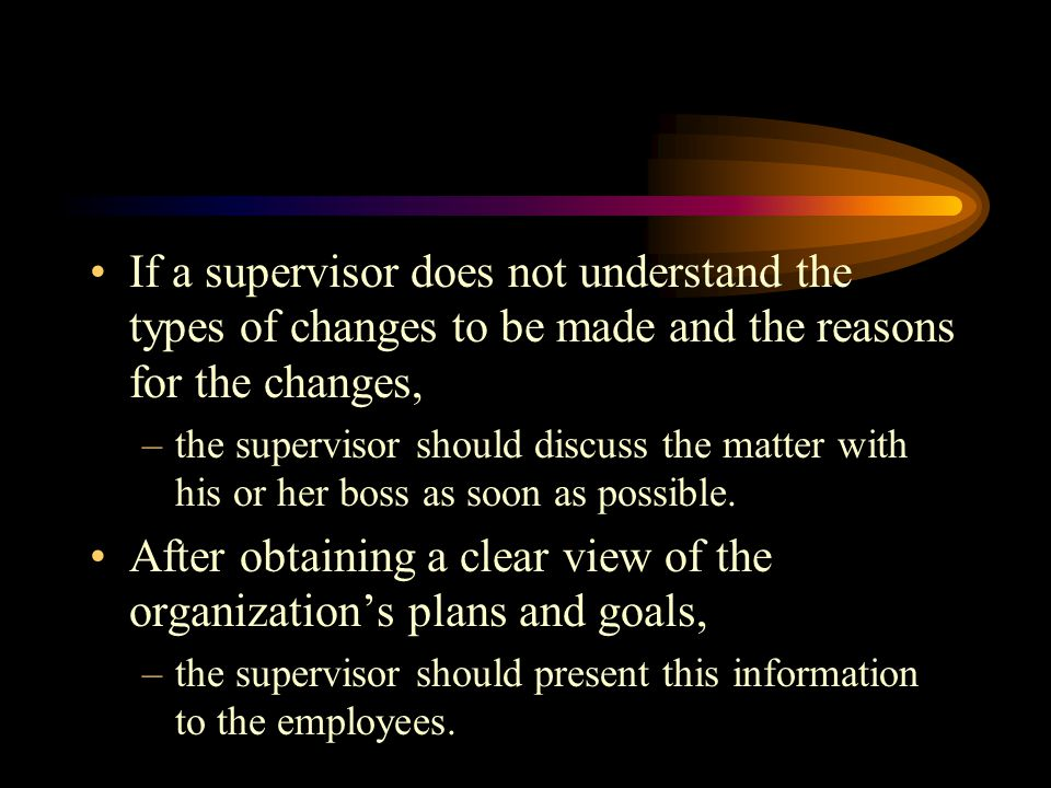After obtaining a clear view of the organization's plans and goals,