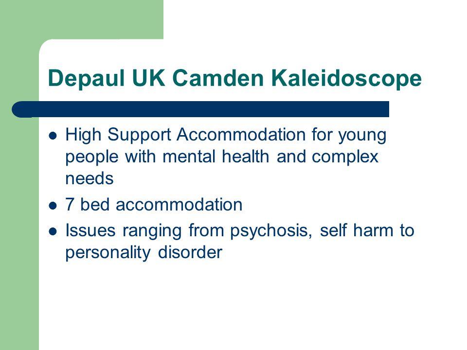Depaul UK Camden Kaleidoscope