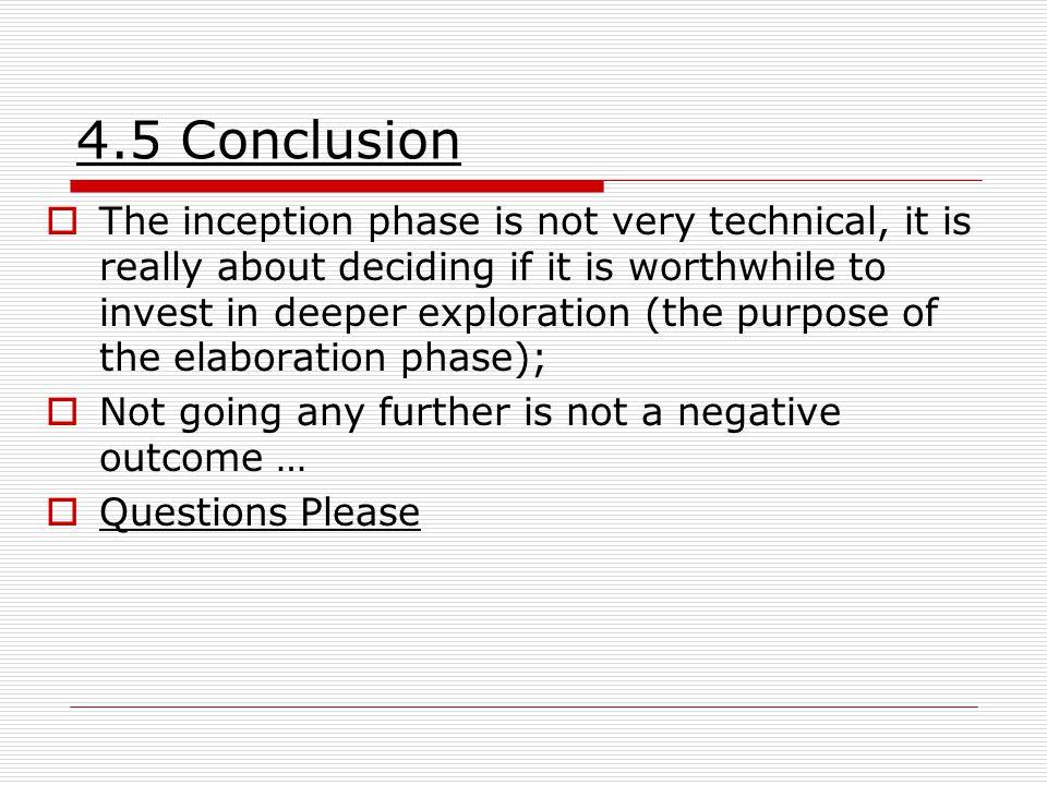 4.5 Conclusion