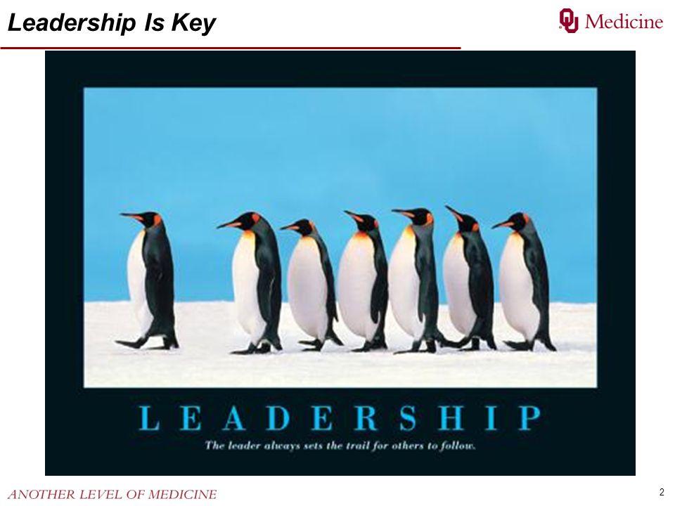 Leadership Is Key