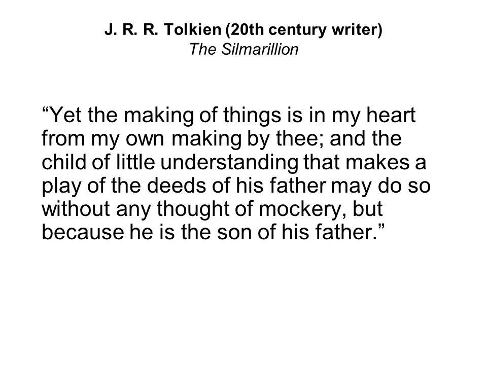 J. R. R. Tolkien (20th century writer) The Silmarillion