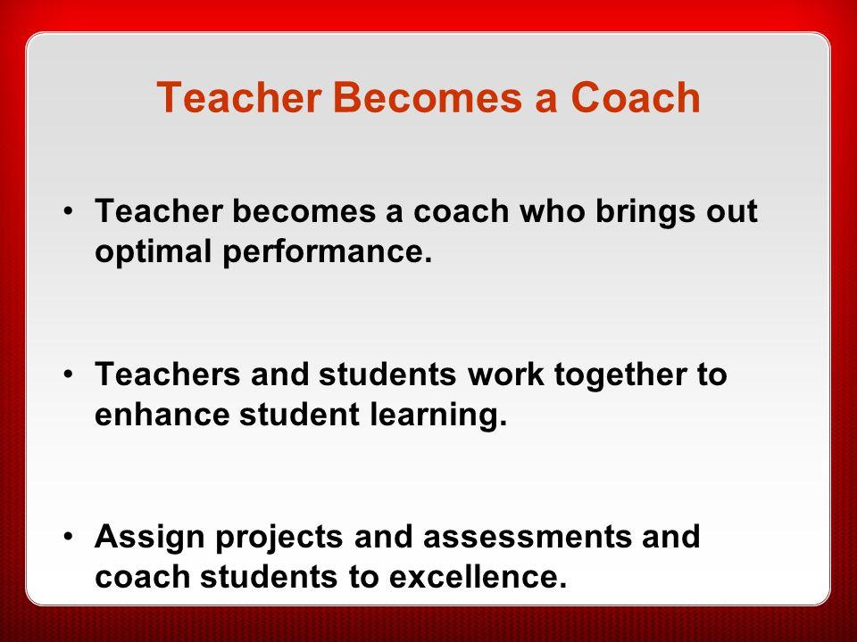 Teacher Becomes a Coach