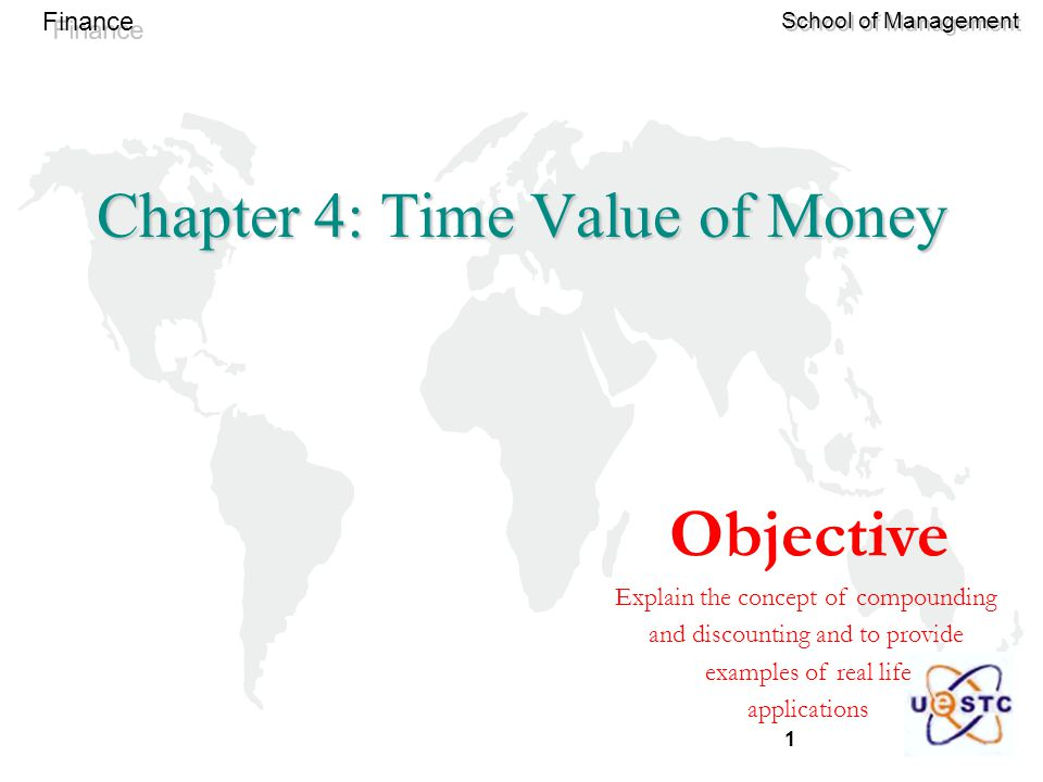 Chapter 4: Time Value of Money