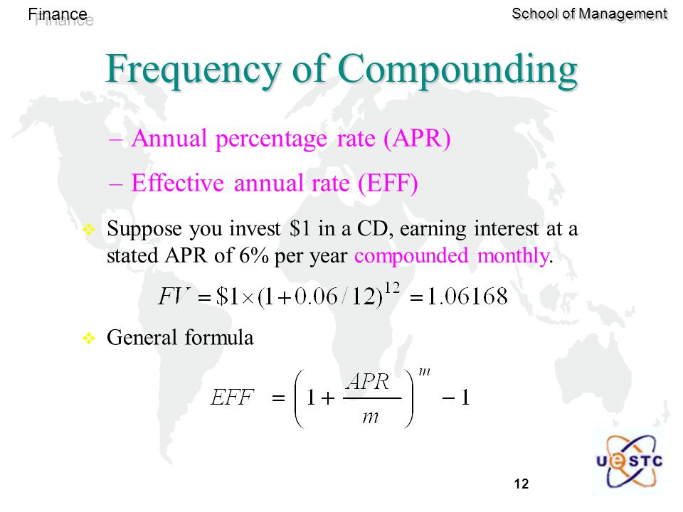 Frequency of Compounding