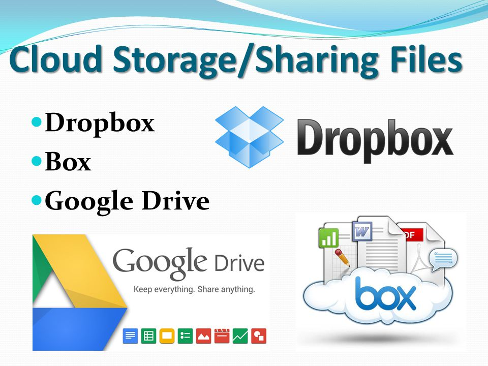 Cloud Storage/Sharing Files