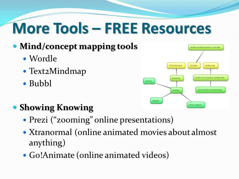 More Tools – FREE Resources