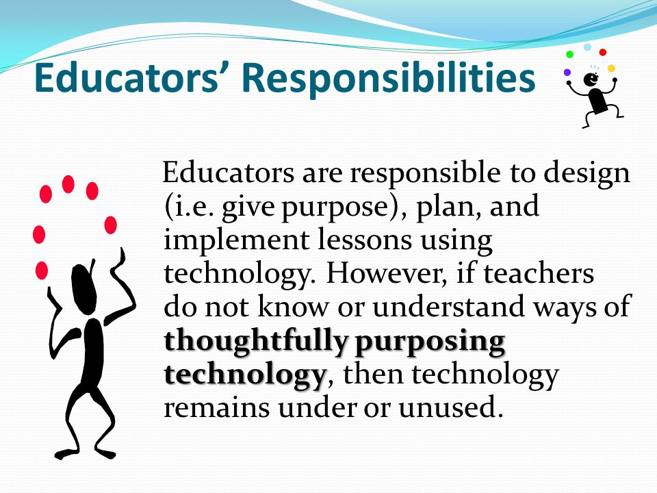 Educators' Responsibilities