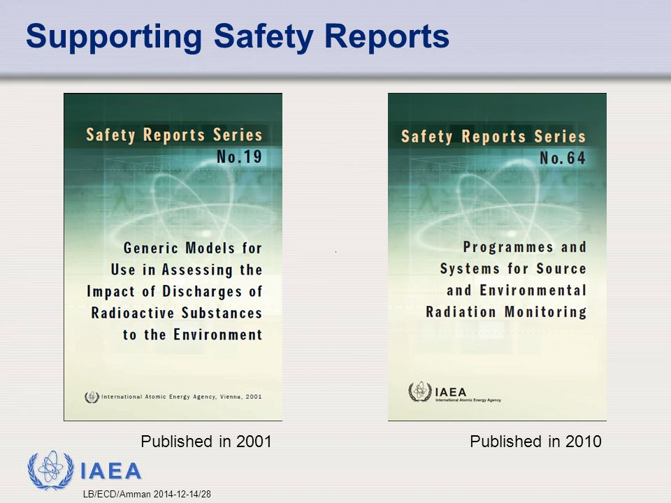 Supporting Safety Reports