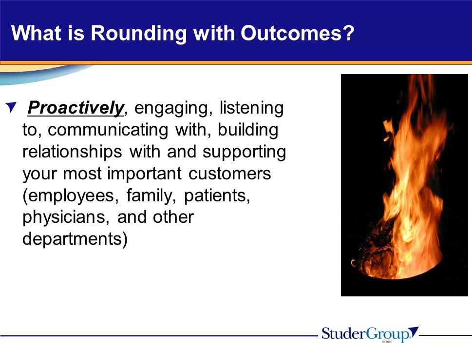 What is Rounding with Outcomes