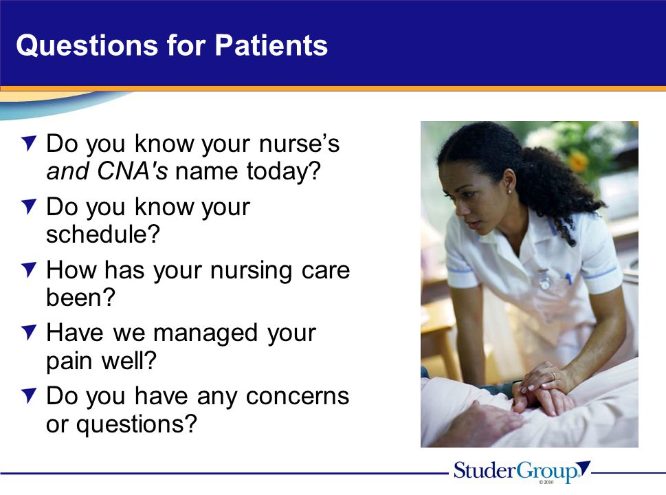 Questions for Patients