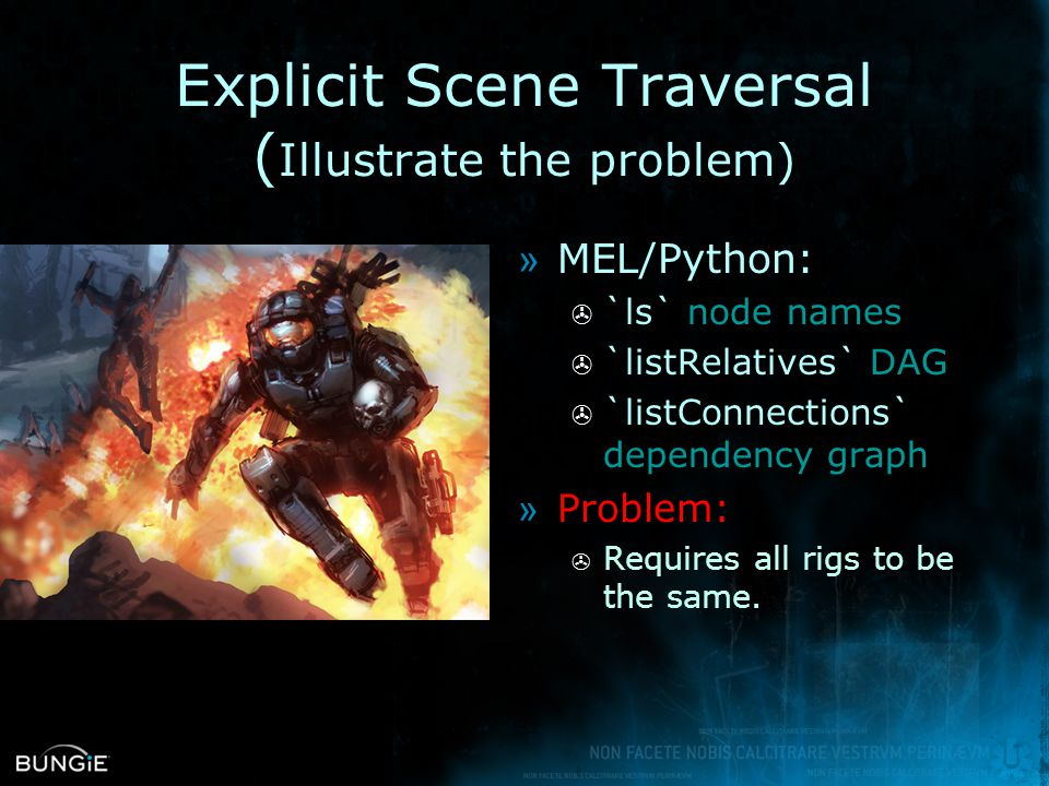 Explicit Scene Traversal (Illustrate the problem)
