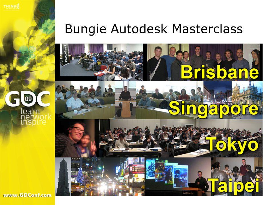 Bungie Autodesk Masterclass