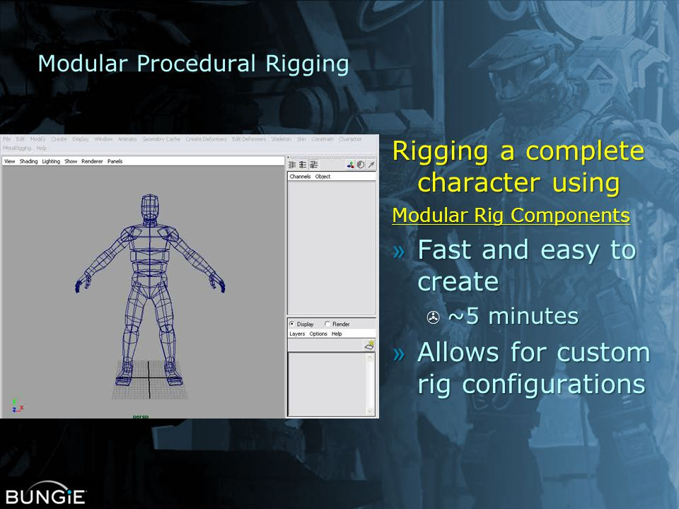 Modular Procedural Rigging