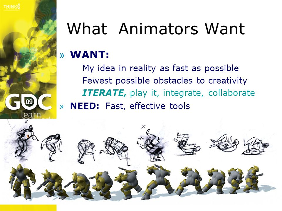 What Animators Want WANT: My idea in reality as fast as possible