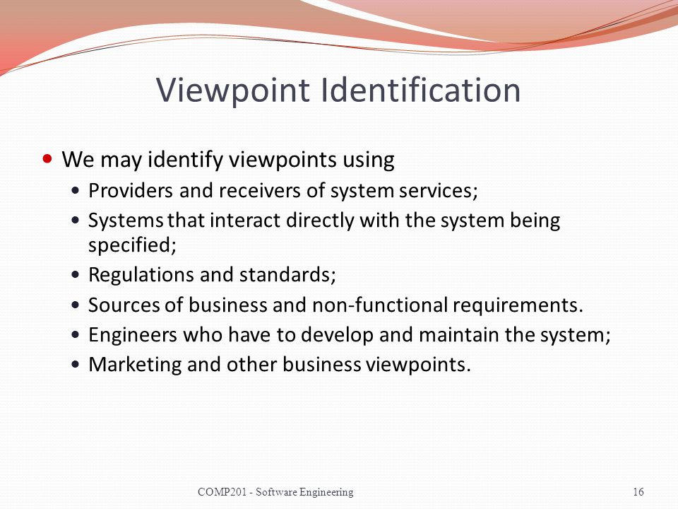 Viewpoint Identification