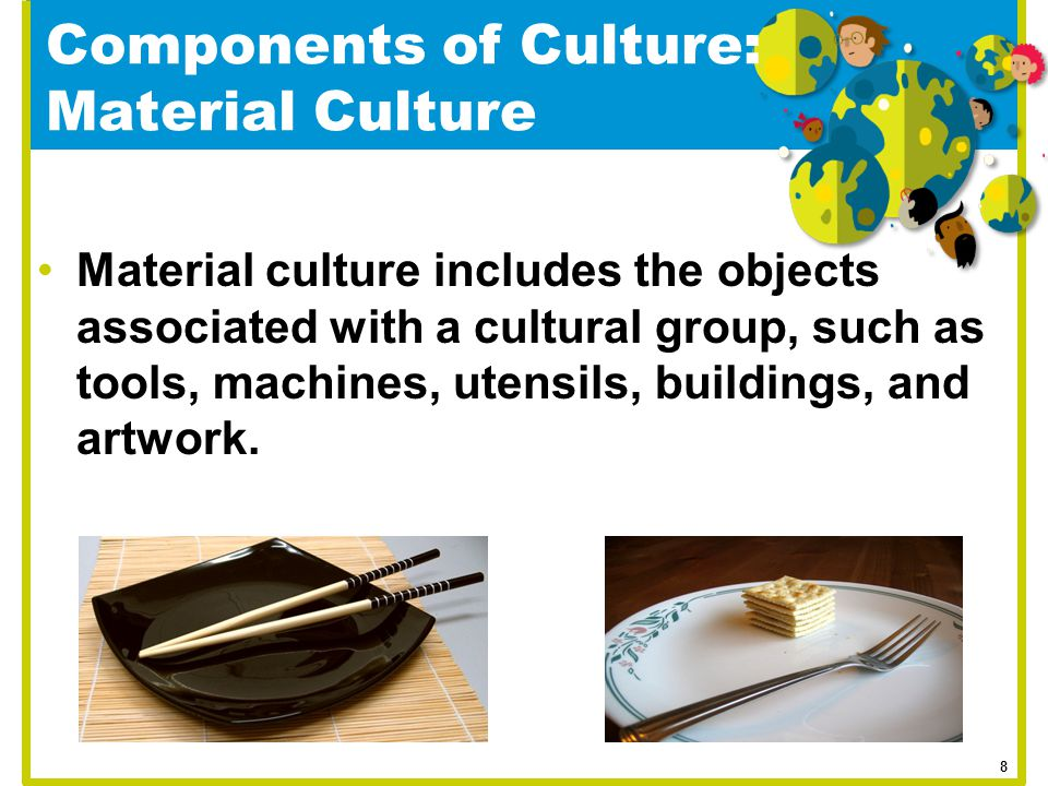 Components of Culture: Material Culture