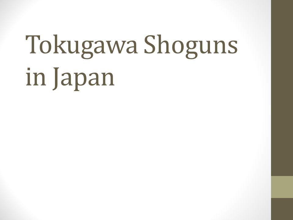Tokugawa Shoguns in Japan