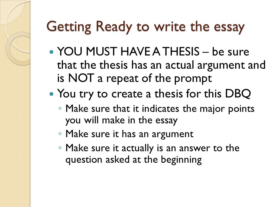 Thesis Statement In Essay Getting Ready To Write The Essay English Narrative Essay Topics also Essay Thesis Statement For First Timers And Experts Alike  Ppt Download Argumentative Essay Examples High School