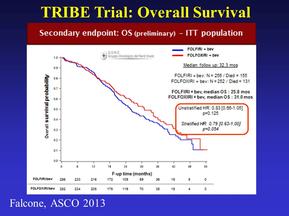 TRIBE Trial: Overall Survival