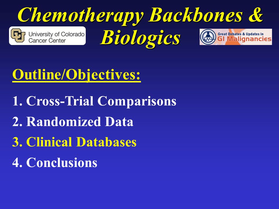 Chemotherapy Backbones & Biologics