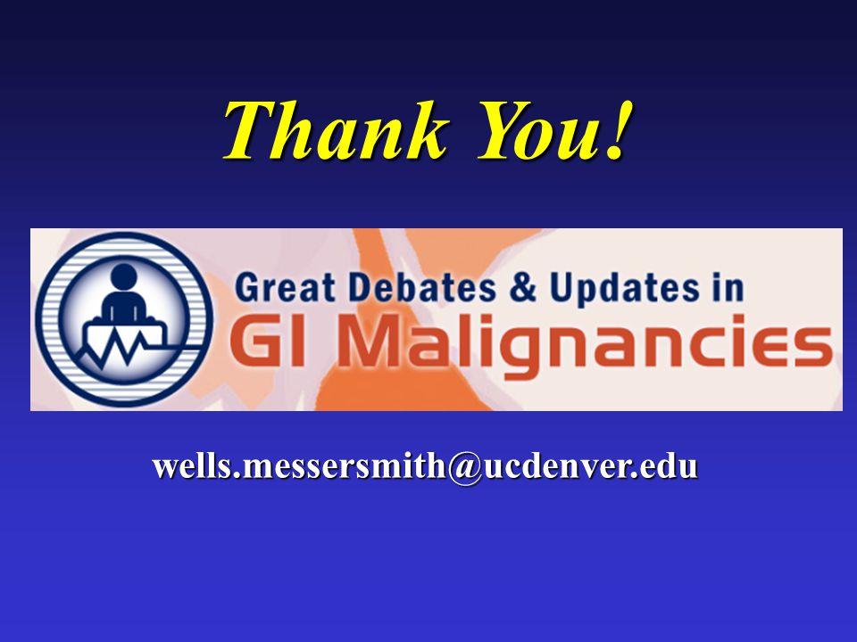 Thank You! wells.messersmith@ucdenver.edu