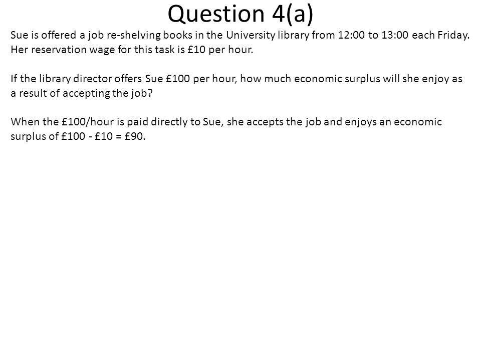 Question 4(a)