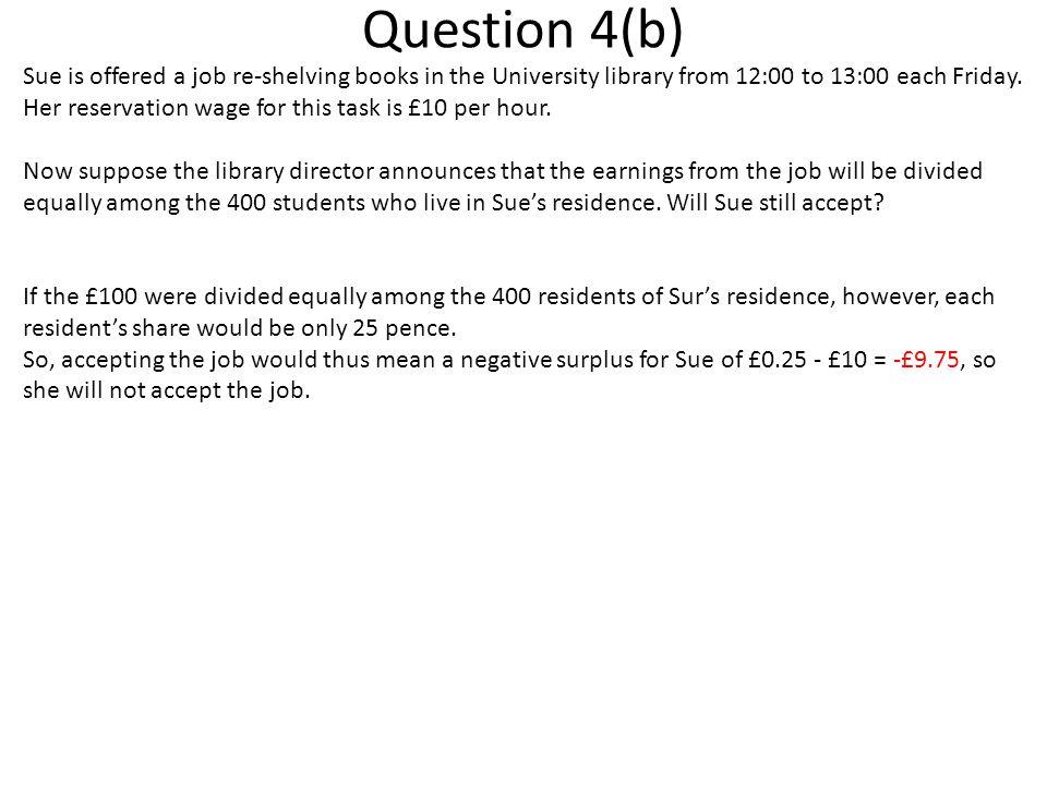 Question 4(b)