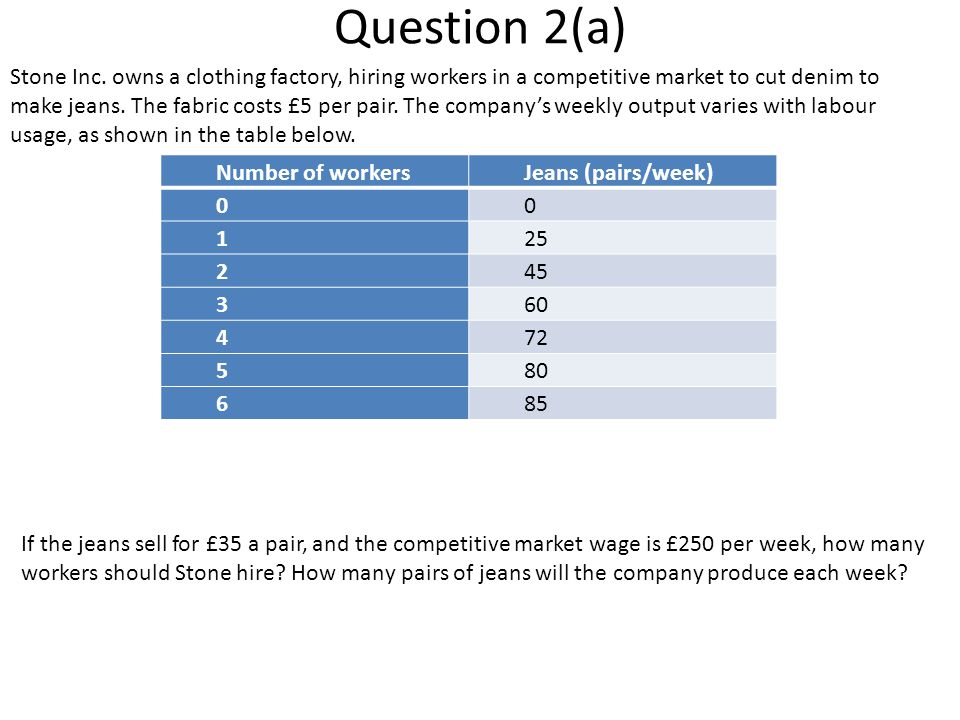 Question 2(a)