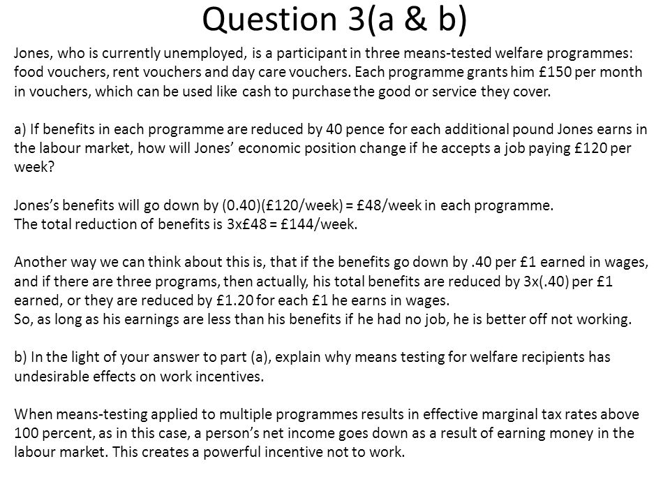Question 3(a & b)
