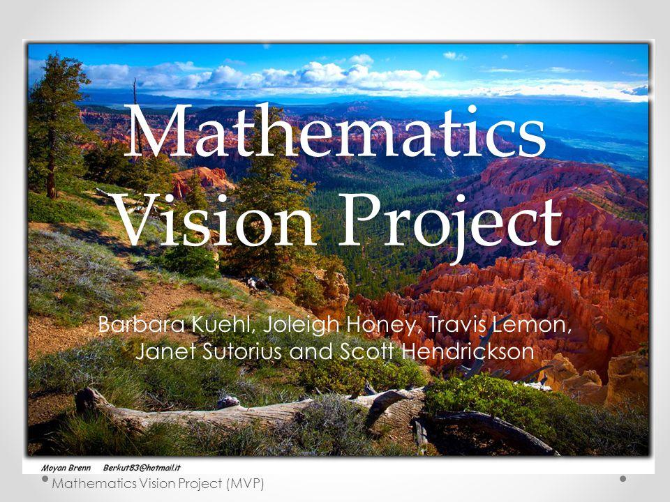 Mathematics Vision Project