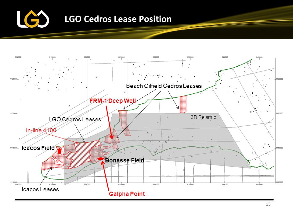 LGO Cedros Lease Position