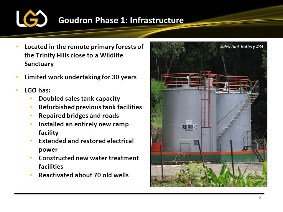Goudron Phase 1: Infrastructure