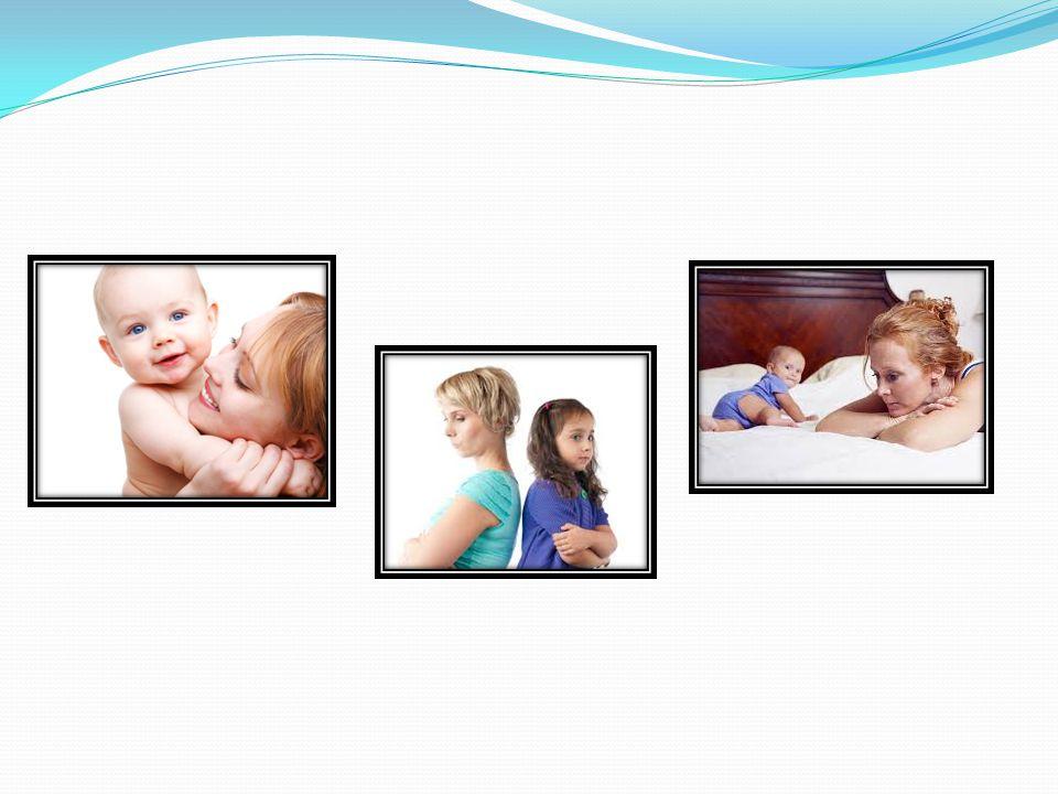 Loving parent & child / parent and child ignoring each other / parent ignoring child