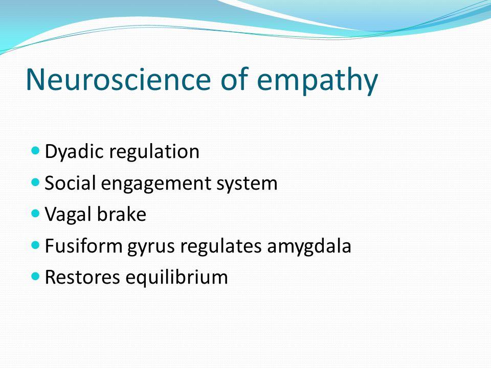 Neuroscience of empathy