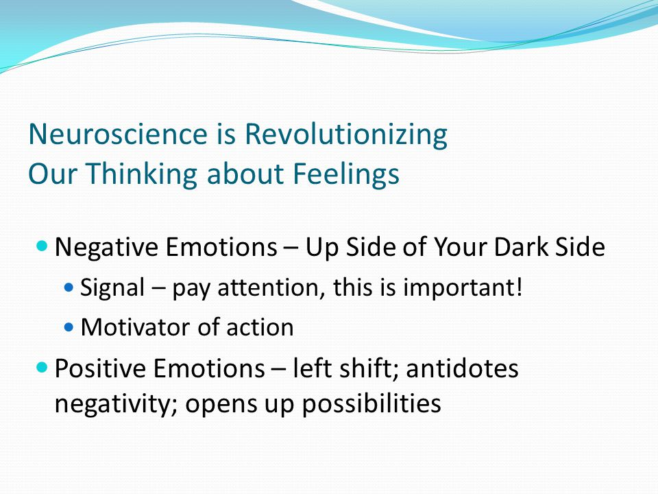 Neuroscience is Revolutionizing Our Thinking about Feelings