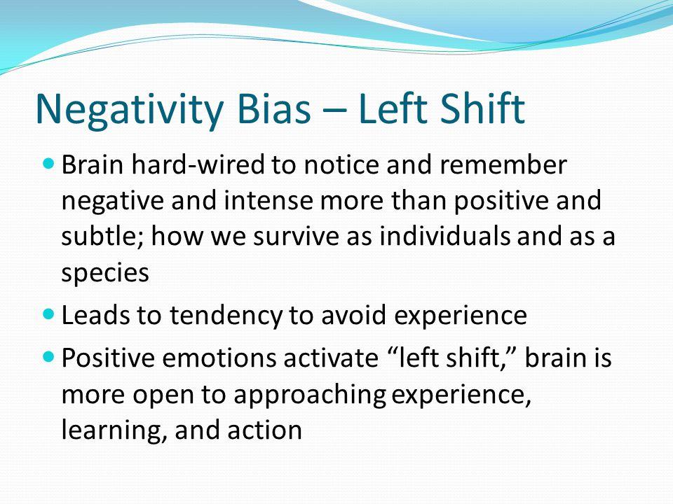 Negativity Bias – Left Shift
