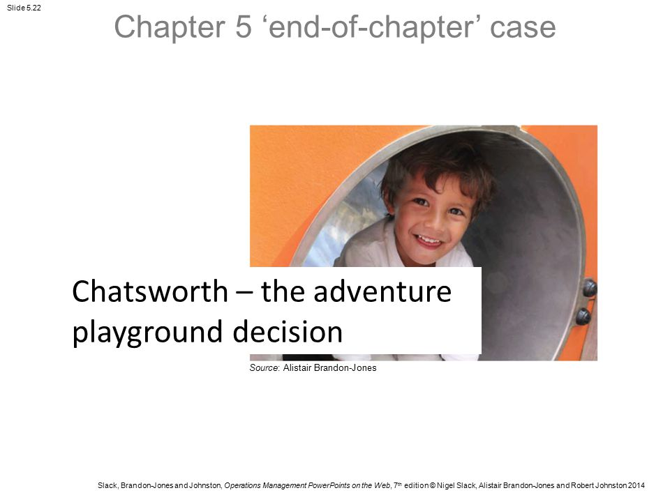 Chapter 5 'end-of-chapter' case