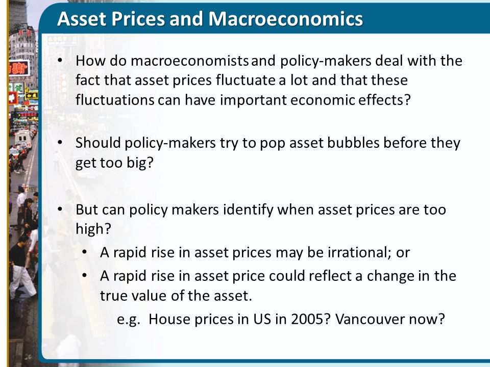 Asset Prices and Macroeconomics