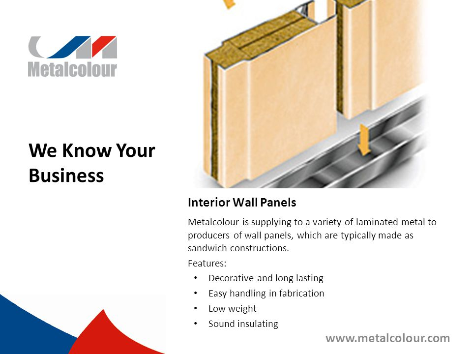 We Know Your Business Interior Wall Panels