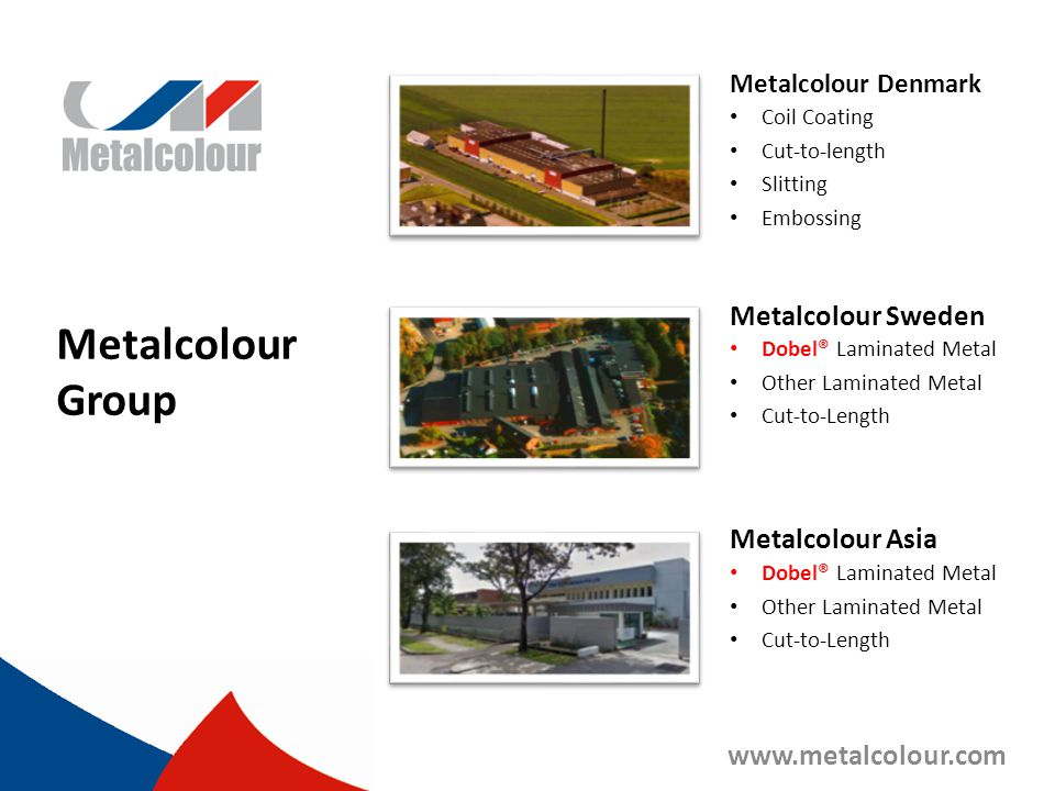 Metalcolour Group Metalcolour Sweden Metalcolour Asia