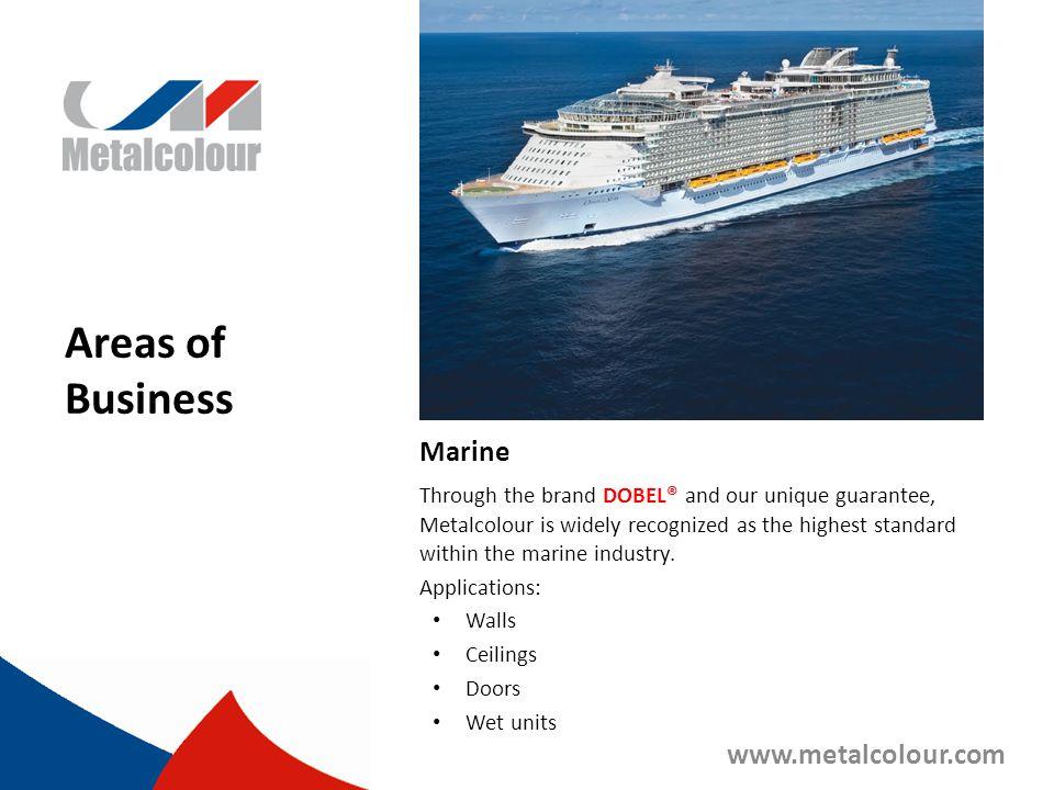 Areas of Business Marine