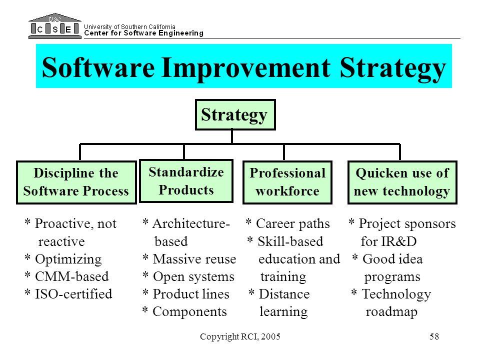 Software Improvement Strategy