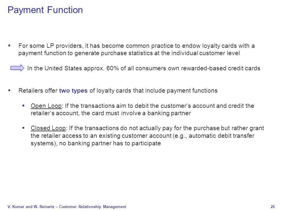 Payment Function