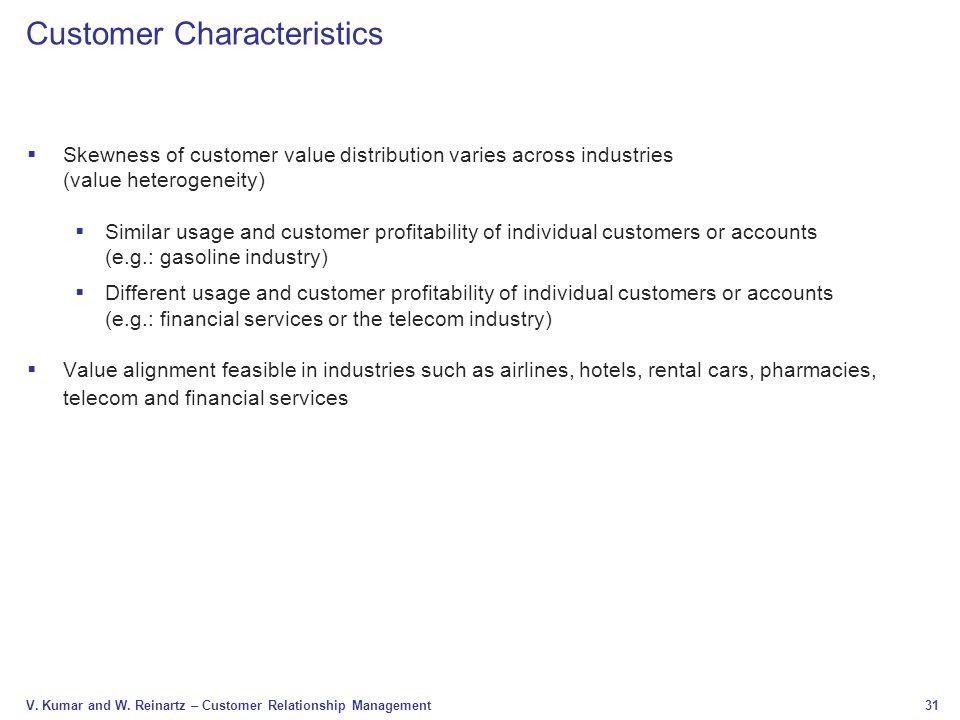 Customer Characteristics
