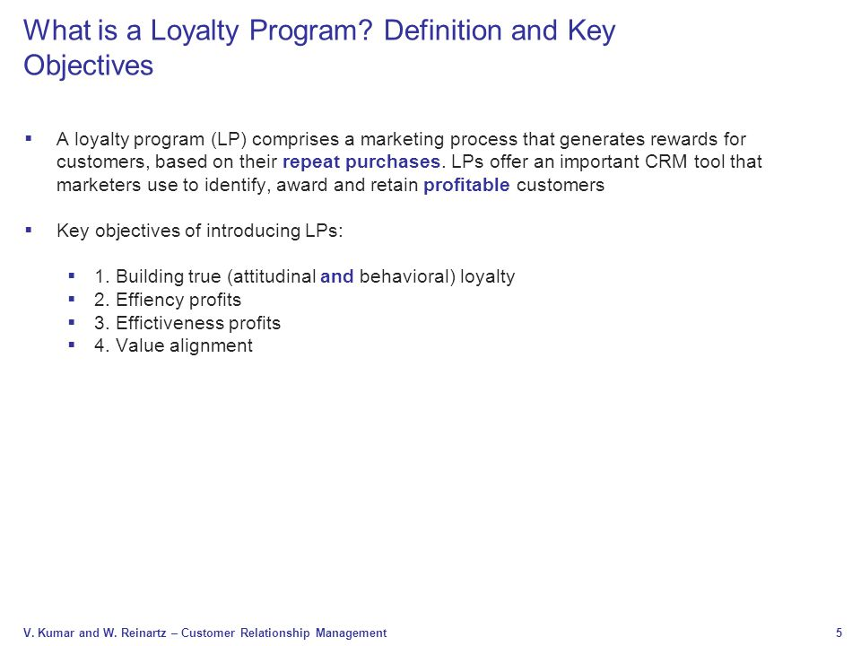 What is a Loyalty Program Definition and Key Objectives