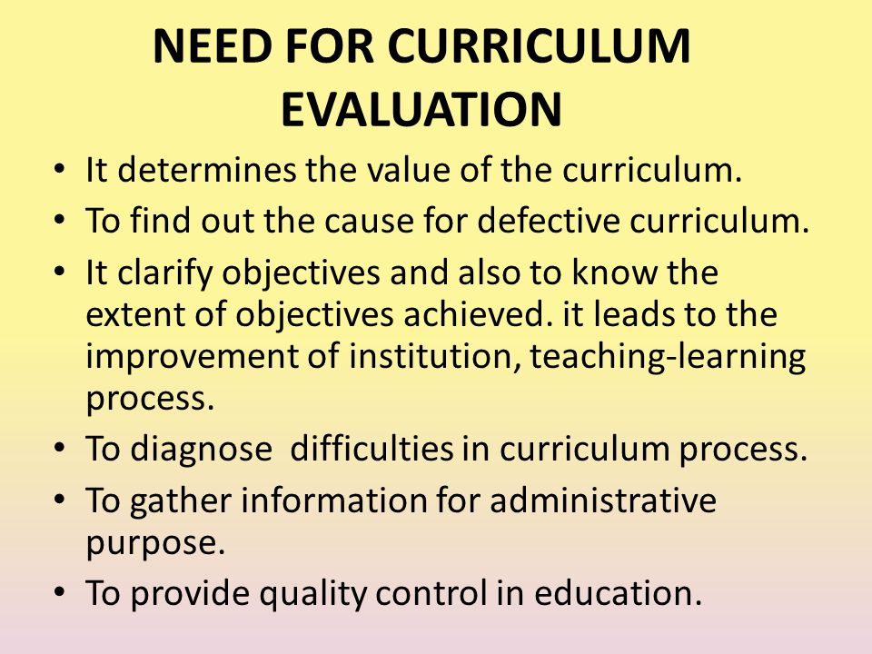 curriculum development and evaluation essay Curriculum evaluation - essay example the design and the development of curriculum in all educational contexts is based on specific criteria.