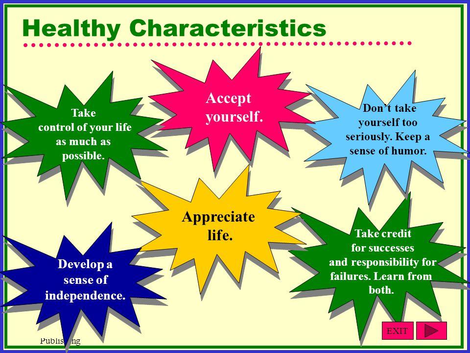 Healthy Characteristics