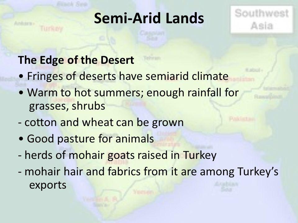 Semi-Arid Lands
